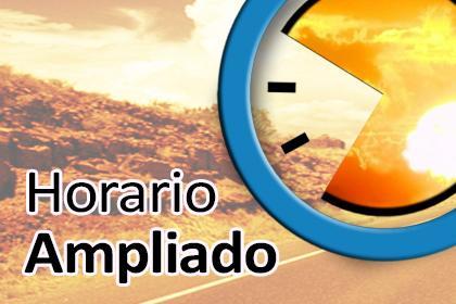 AMPLIACIÓN HORARIO TEMPORADA 2019